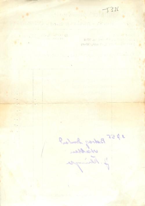 5396 rechnung coburg karl g n ler gartenbau 1955 ebay. Black Bedroom Furniture Sets. Home Design Ideas